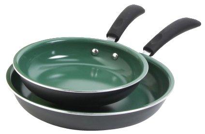 Nuwave Perfect Green 12 Inch Skillet Fry Pan Duralon