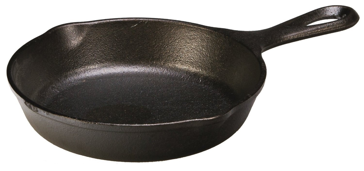 Pre-Seasoned Cast-Iron Skillet 6.5-inch