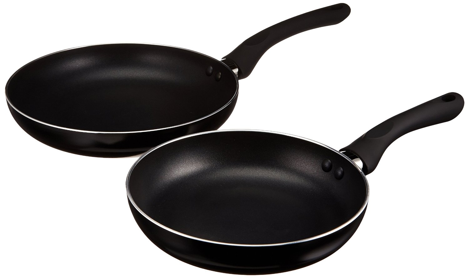 AmazonBasics 2-Piece Nonstick Fry Pan Set