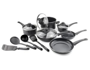 greenlife 14 piece non stick cookware set