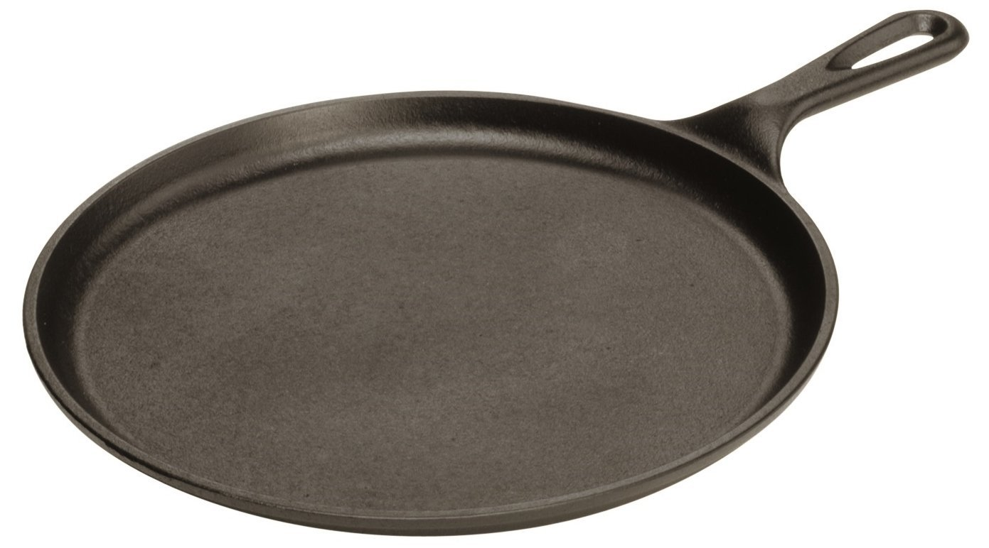 Lodge Logic Cast-Iron Round Griddle 10.5-inch