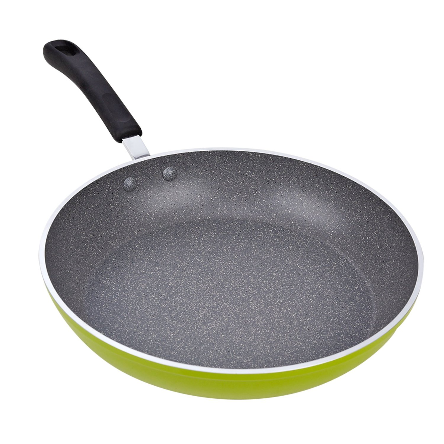 Cook N Home 12-Inch Frying Pan with Non-Stick Coating