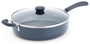 T-fal A91082 Specialty Nonstick Dishwasher Safe Oven Safe Jumbo Cooker Saute Pan